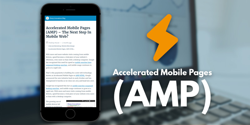 Accelerated Mobile Pages (AMP) – The Next Step In Mobile Web - Header