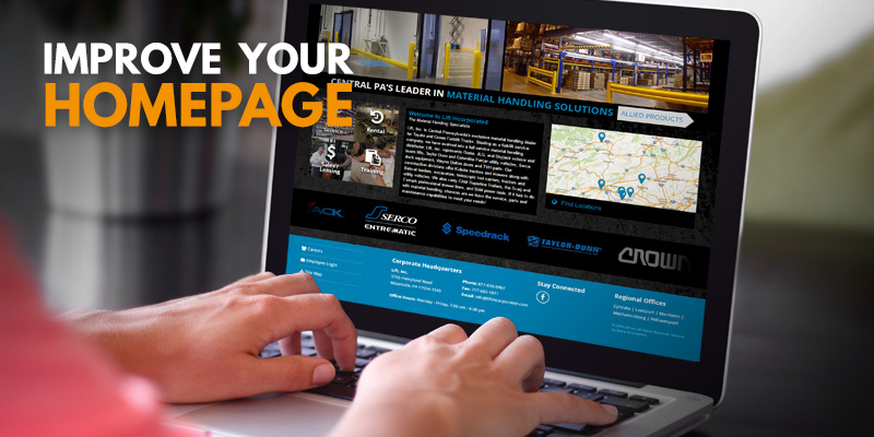 3 Quick Ways to Improve your Homepage | Header