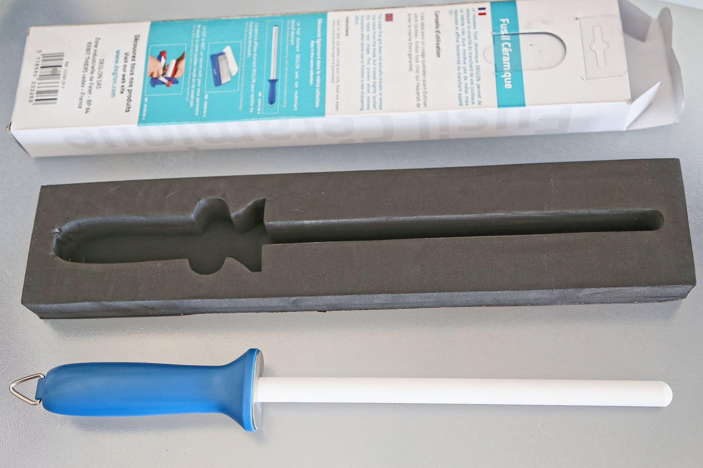 Deglon Ceramics Knife Sharpener, 9-Inch