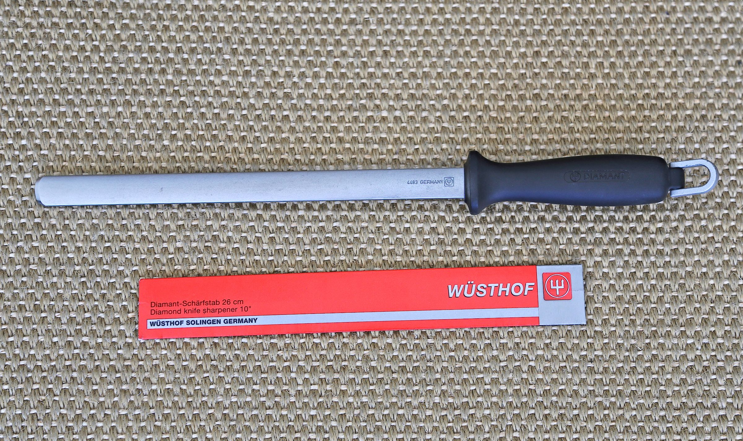 Wusthof Extra Fine diamond coating Sharpening Steel
