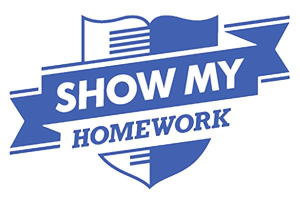 Launching Show My Homework