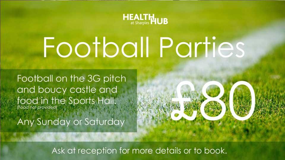 Health Hub Football Parties