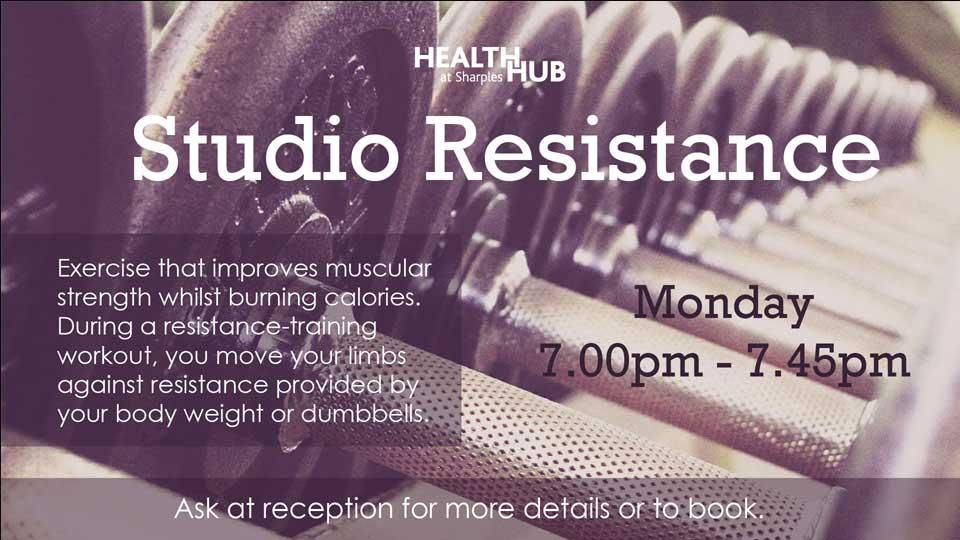 Health Hub Studio Resistance 1