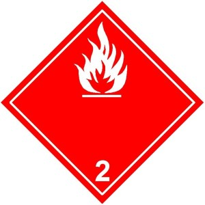 2.1 Flammable gases