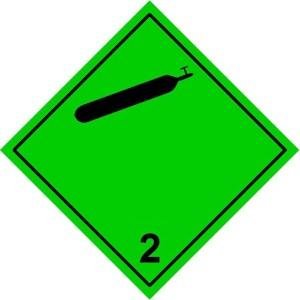 2.2 non-flammable, non-toxic gases