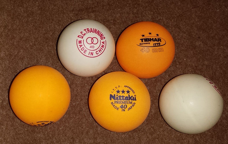 assortment-of-40mm-table-tennis-balls - photo by Universe Greg