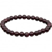 8mm Garnet Stretch Bracelet for EMF Protection | Shasta Rainbow Angels |