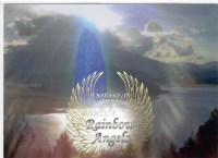 Blue Ray Guardian (BR) 5x7 Laminated Art Print | Shasta Rainbow Angels