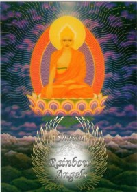 Buddha (BU3) - 5X7 Laminated Altar Card | Shasta Rainbow Angels