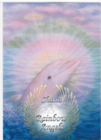 Dolphin of Sirius (DO) 5x7 Laminated Art Print | Shasta Rainbow Angels