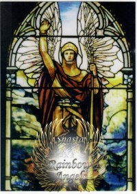 Archangel Gabriel (GA2) - 5X7 Laminated Altar Card | Shasta Rainbow Angels