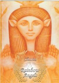 Hathor (HA) - 5X7 Laminated Altar Card | Shasta Rainbow Angels