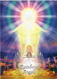 I Am Presence (IAP) - 5X7 Laminated Altar Card   Shasta Rainbow Angels