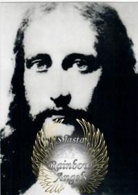 Jesus the Christ (JC3) Laminated 5x7 Art Print | Shasta Rainbow Angels
