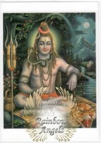 Shiva (SH2) - 5X7 Laminated Altar Card | Shasta Rainbow Angels
