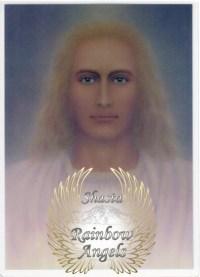 Sanat Kumara (SK) - 5x7 Laminated Altar Card | Shasta Rainbow Angels
