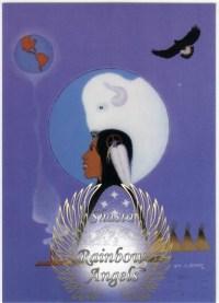 White Bufflo Calf Woman (WB) Laminated 5x7 Art Print | Shasta Rainbow Angels