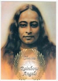 Paramahansa Yogananda (YO1) Laminated 5x7 Art Print | Shasta Rainbow Angels