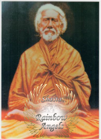 Sri Yukteswar (YU) laminated 5x7 Art Print | Shasta Rainbow Angles