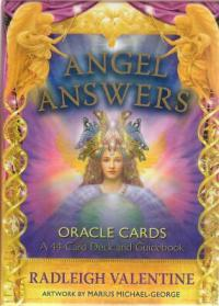Angel Answers Oracle Card Deck | Shasta Rainbow Angels