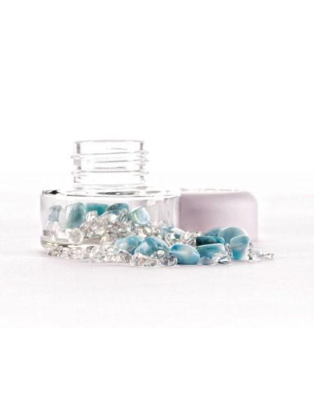 Changeable Crystal Jar Larimar | Shasta Rainbow Angels
