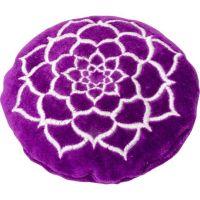 Purple Lotus Crystal Cushion | Shasta Rainbow Angels