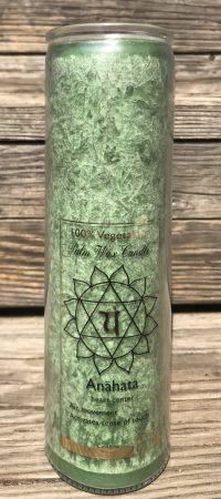 Healing Heart Chakra Fragrance Free Jar Candle | Shasta Rainbow Angels