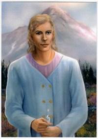 Adama (AD) - 5X7 Laminated Altar Card | Shasta Rainbow Angels