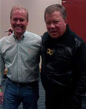 Peter Sloan and William Shatner