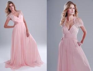 Pink elegant dress