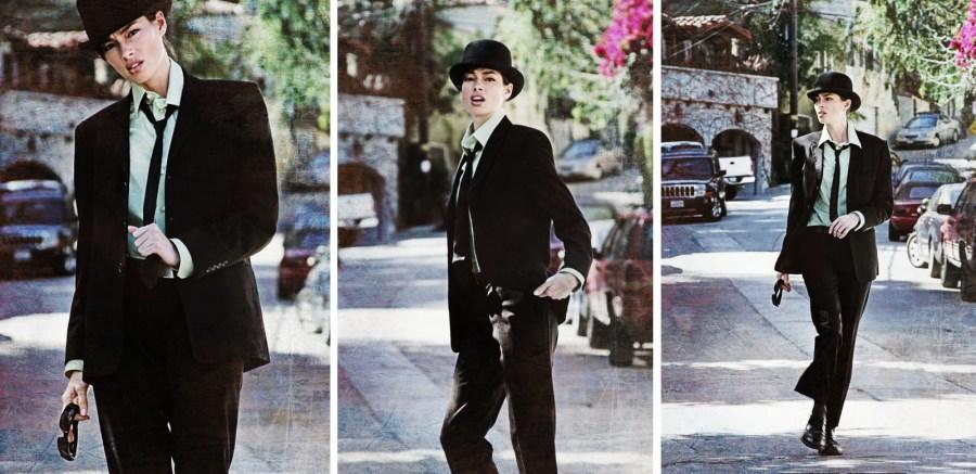 James Dean Fashion Editorial- Hollywood California