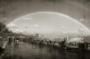 double rainbow Niagara Falls