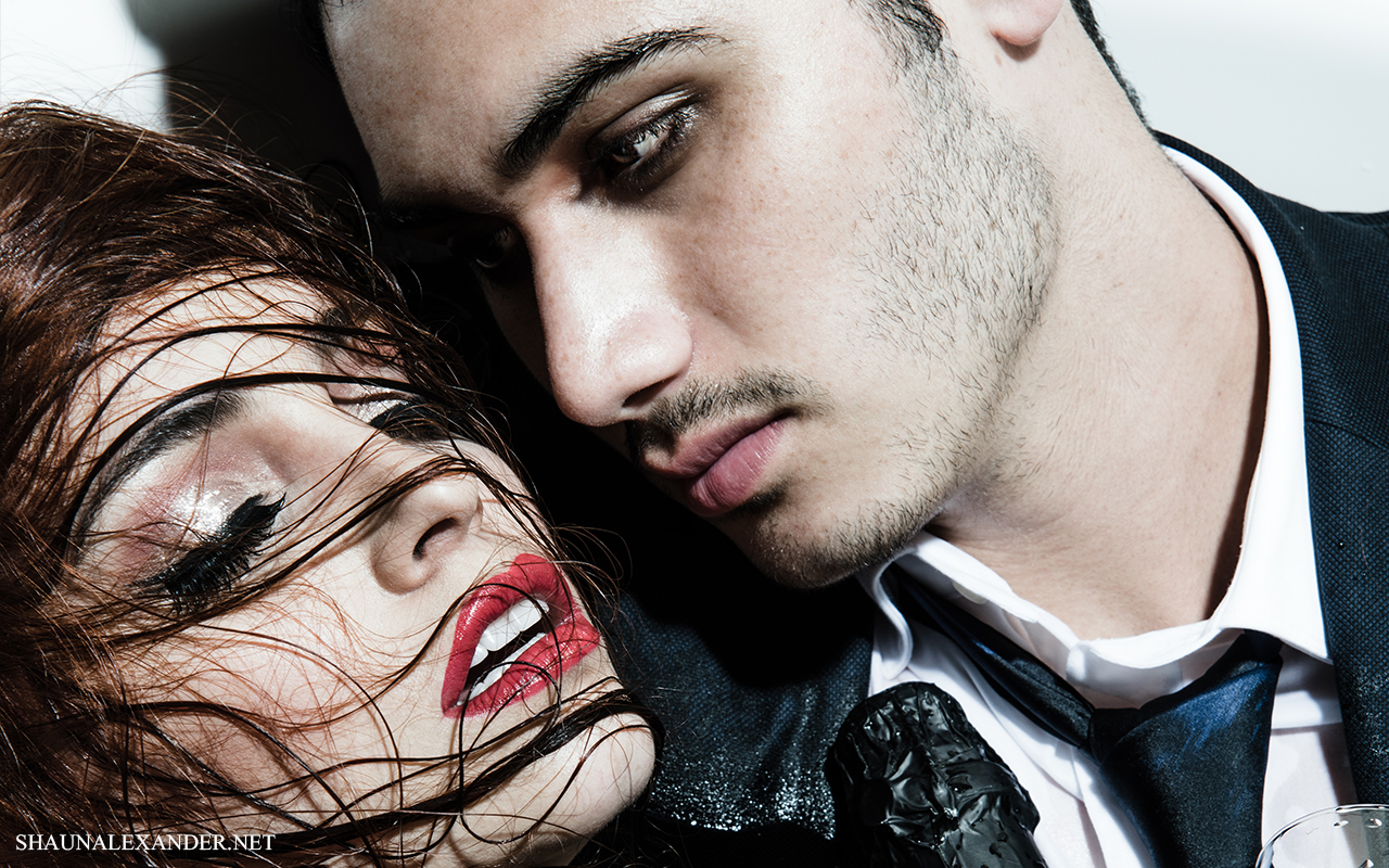 Fashion Editorial photo shoot with Minnie West & Alejandro Speitzer by Shaun Alexander Photography (12)