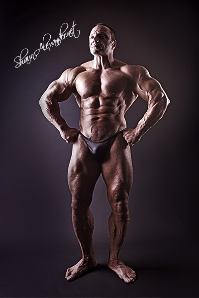 Sports photographer for bodybuilders