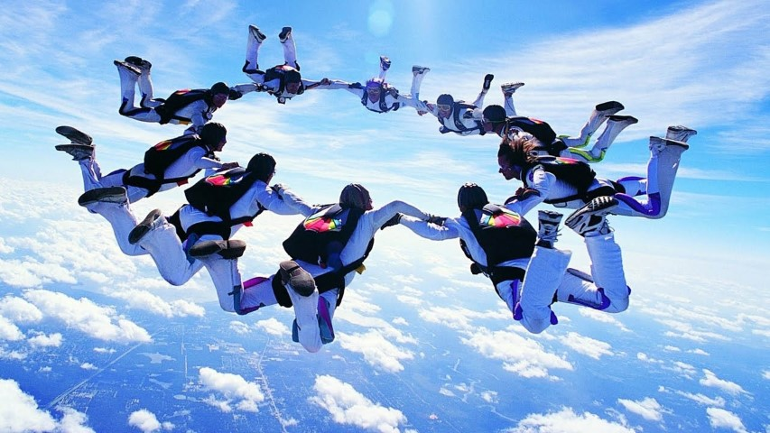 Sky Diving Trips Top Fashion Photographer Shaun