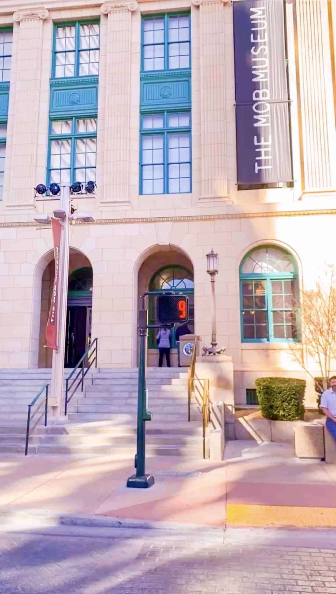 The Mob Museum Downtown Las Vegas