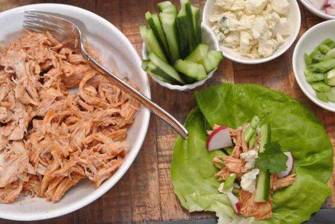BBQ Chicken Lettuce Wraps 2