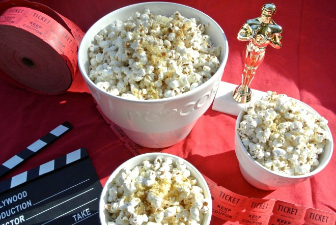 Popcorn and decor