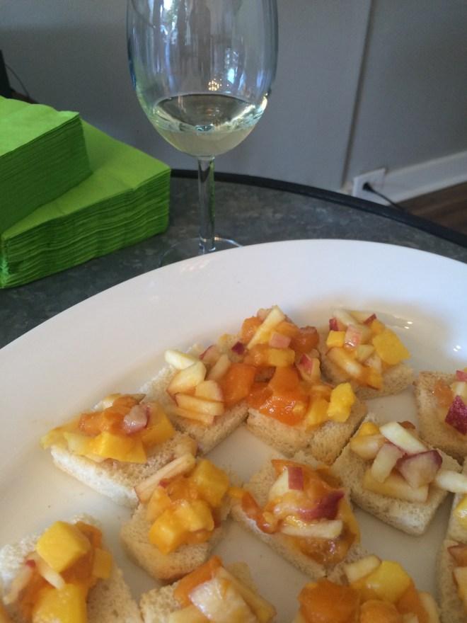Albariño & Fruit Salad