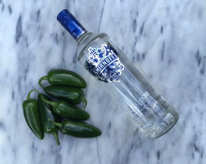 Jalapeño vodka