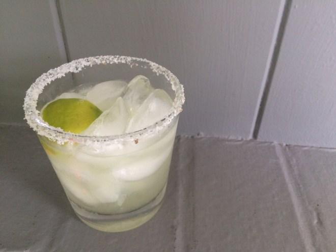 Spicy Sweet Smoky Margarita