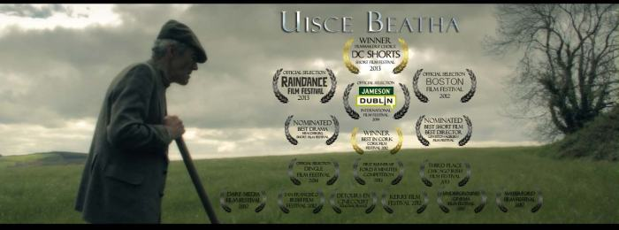 'Uisce Beatha' Laurels Poster January 2014