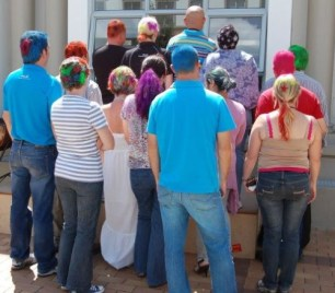 CellC Shavathon 2012 - In Memory of Paul Rambarun who passed away a week before from cancer... --->