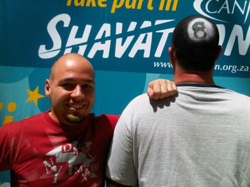 Shaved and sprayed at Randburg