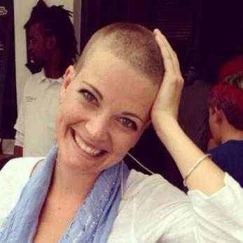 Christy Strever Shaved