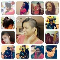 Karmen Naidoo shaves head
