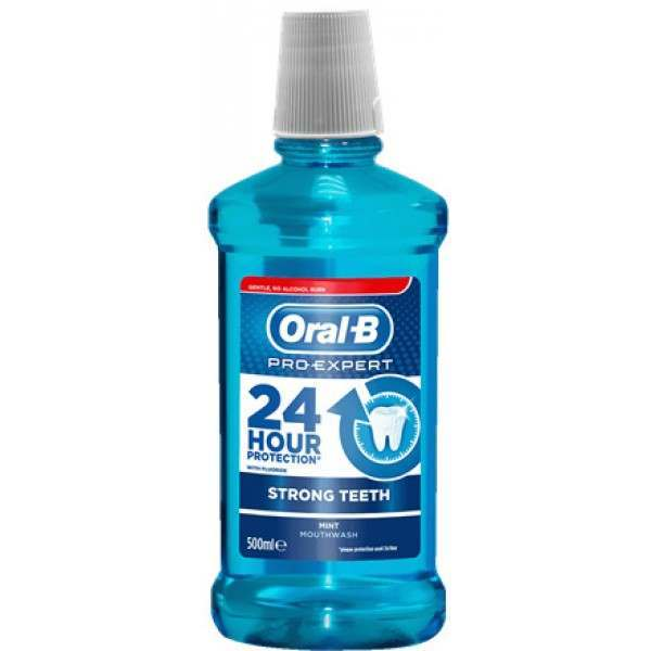 Oral B 81570708 Pro Expert Strong Teeth Mouthwash