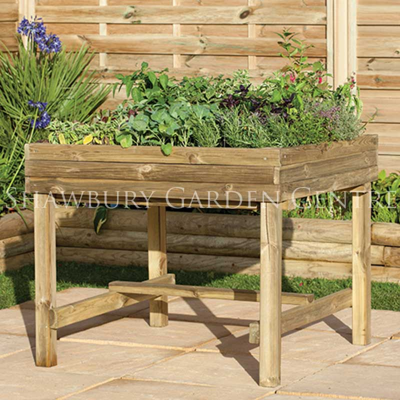 Forest Garden Raised Planter