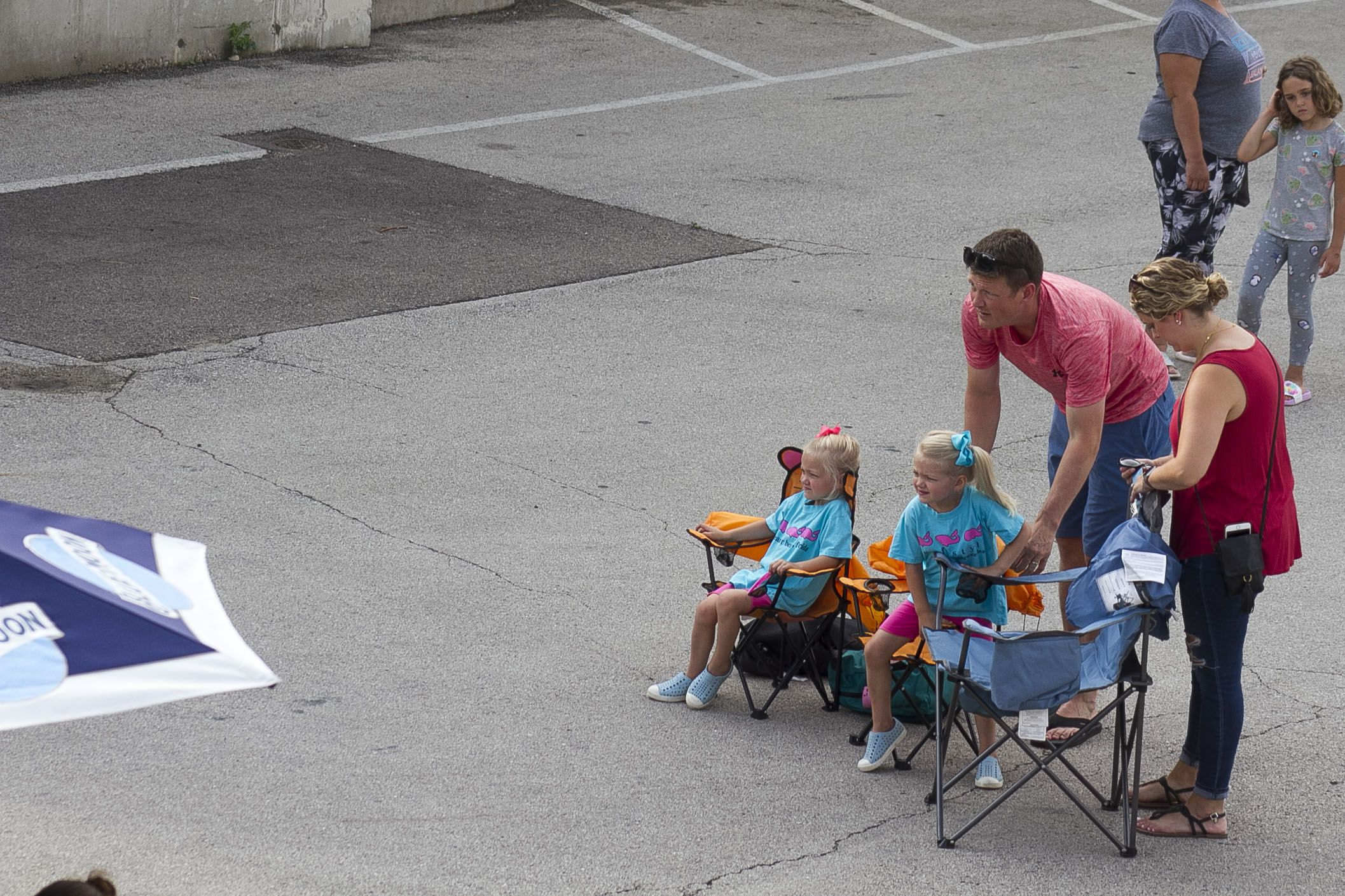 Yorkville residents brought their own seating and visited area restaurants to hear the music coming from The Law Office during the first night of the annual Summer Solstice music festival June 25.
