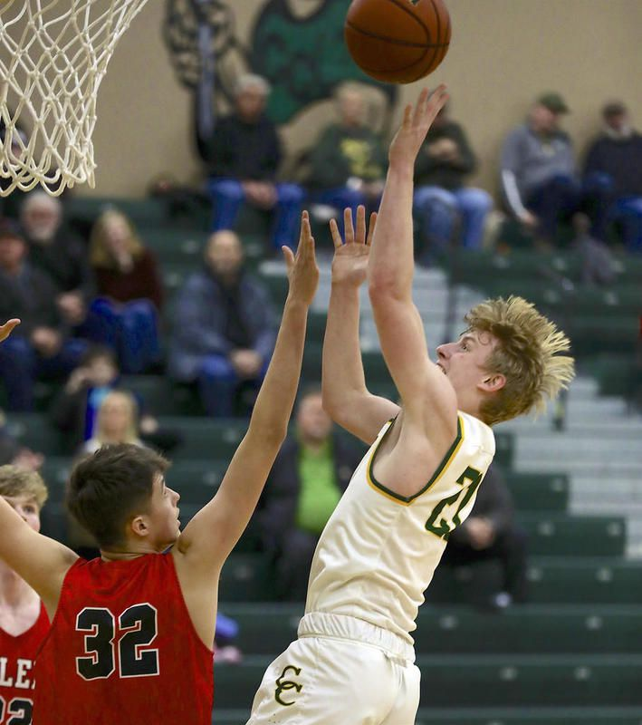 Coal City's Kyle Burch, seen here during a previous game, scored 18 points Tuesday in a 64-51 overtime loss to Herscher.